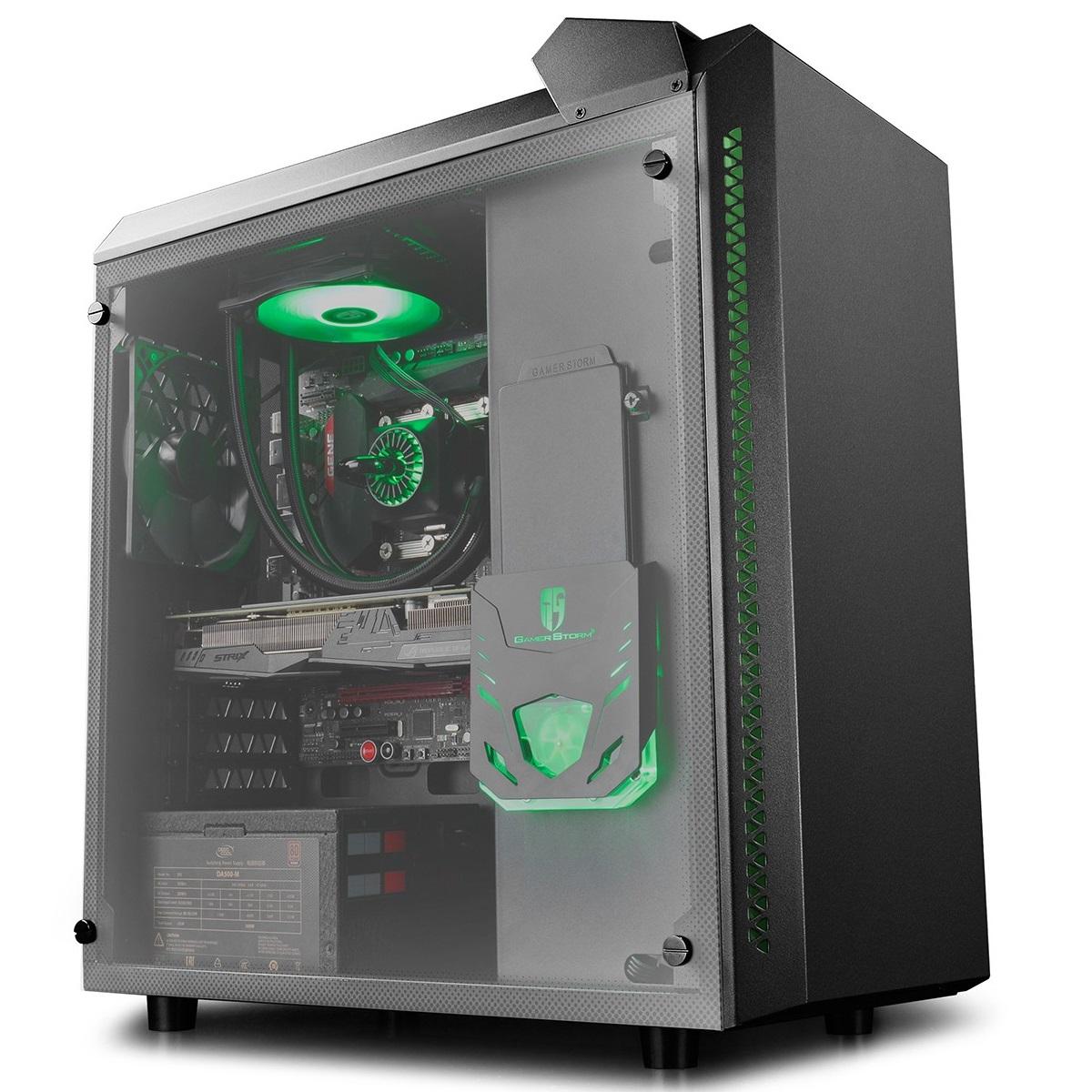 Roc Tech Deepcool Xfan 12cm Casing Fan Black 179540 Baronkase Case