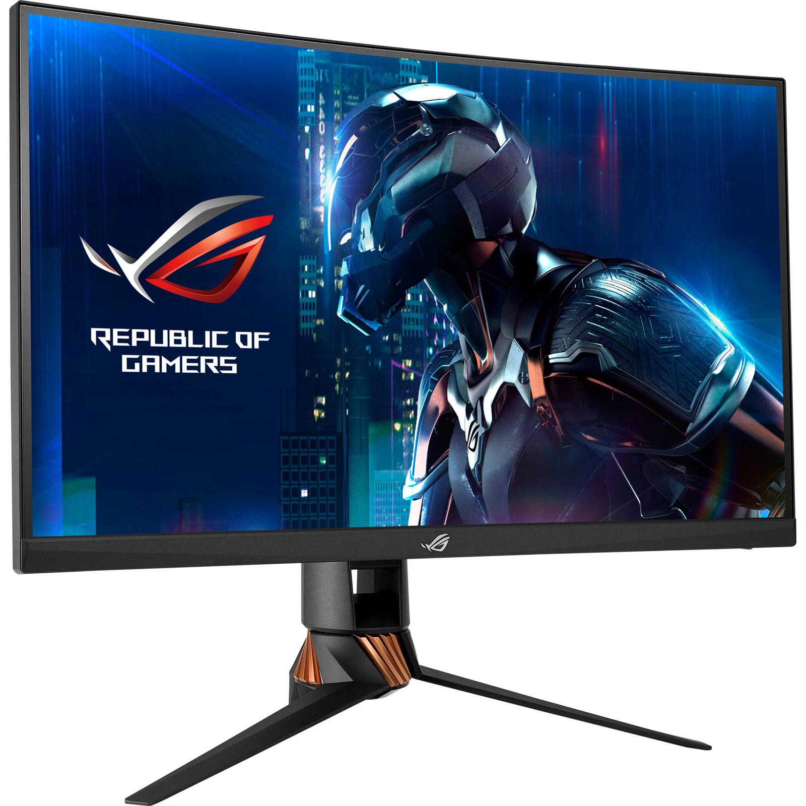 Roc Tech Monitor Asus Vc239h Eye Care Frameless 23 Full Hd Ips Speaker Tuv 180641 Rog Swift Pg27vq